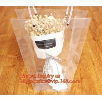 Buy cheap PP plastic flower carry bags with hanging for potted plant bags,quality assurance great quality pp flower bag bagease pa product