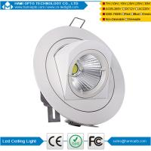 Buy cheap COB light source super bright led gimbal light led downlight 10W product