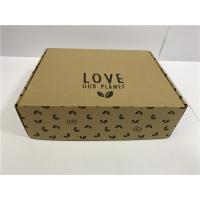 Buy cheap Heat Protection Cardboard Shoe Boxes For Men Women Children UV Coating product