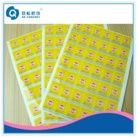 Buy cheap Embossing Tamper Proof A4 Self Adhesive Labels For Cigarette / Stationery product