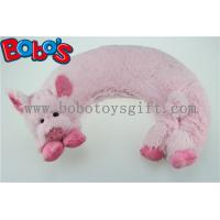 Buy cheap Microwave Heated Plush Pig Neck Pillow Filled with Flaxseeds and Larender product