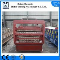 Buy cheap Durable Roofing Sheet Forming Machine, Three Layer Metal Roof Roll Forming Machine product