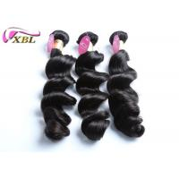 China Smooth And Soft Loose Wave Brazilian Human Virgin Hair Extensions 8- 38 inch wholesale