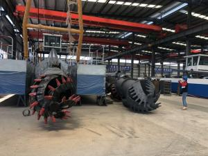 Buy cheap Underwater 12 Inch Cutter Suction Dredger Vessel Dismantling product