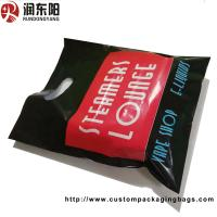 PE Material Die Cut Handle Plastic Bags Stand Up Pouch Recyclable For Shopping
