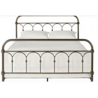 Atmosphere Adults Designs Plain Metal Frame Full Bed , 125mm Height King / Queen Size Iron Bed