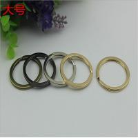 Buy cheap Manufacturing various color iron key chain accessories 29 mm small split key ring product
