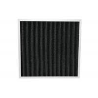 Buy cheap Eliminate Peculiar Smell Pleated Panel Activated Carbon Deodorizer Air Filter product