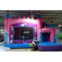 China Children Inflatable Jumping Castle High Strength With Double Down Slides on sale