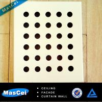Buy cheap Round hole Perforated Stainless Steel Sheet and Clip in Ceiling Tile product
