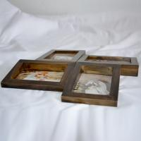 China Modern Picture Photo Frame Free Download 60x90cm Black Floating Picture Frame on sale