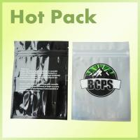 Buy cheap Custom Printed Resealable Plastic Tobacco Pouch Bags Scent Proof Non Toxic product
