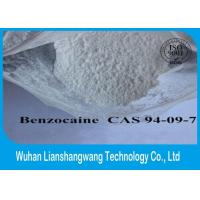 Buy cheap 99% Purity White Local Anesthetic Drugs Raw Benzocaine Powder CAS 94-09-7 product