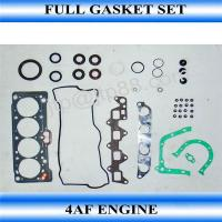 Buy cheap Auto Engine Gasket Kit / Ocverhaul Full Engine Rebuild Kit 4AF For Toyota 04111-16131 product