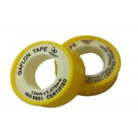 Buy cheap Anti - corrosion Colorful Unsintered PTFE Gasket Tape , 6 - 50m Length product