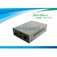 10/100/1000M Gigabit Sfp Media Converter With 256K External Power One SFP GE Slot