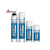 Buy cheap Easy Using Polyurethane Foam Sealant , Spray PU Foam For Prevention And Installation product
