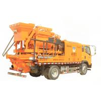 Buy cheap Electrical Engine Truck Mounted Concrete Pump Concrete Mixer Pump Great Performance product