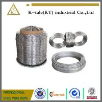 Buy cheap Hot dipped galvanized steel wire, ALAMBRE GALVANIZAD STEEL WIRE MANUFACTURE product