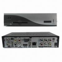 Buy cheap Twin Tuner HD DVB-S2 Receiver with CA and Ethernet Interface from wholesalers
