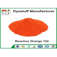 Buy cheap Fabric Reactive Dyes Reactive Orange Wre C I Orange 122 Pad Dyeing Series product