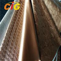 Buy cheap New product of PVC Leather for Bags Colorful with Much Deffierent Designs from wholesalers