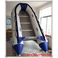 Cold Welding 5 Persons Foldable Inflatable Boat Inflatable Sailing Dinghy plywood floor