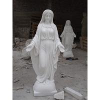 Buy cheap nun white marble figure statue product