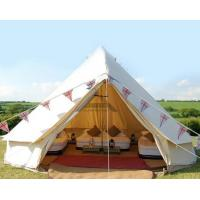 Buy cheap White Outdoor Canvas Tent For For Emergency Shelter Disaster Relief & Camping product