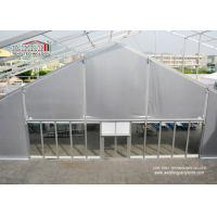Buy cheap 25m Span TFS Marquee Tent Silvery PVC Flame Retardant Roof for 1000 Person Outdoor Events product