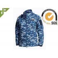 Buy cheap Soft Shell Military Tactical Jackets 100% Polyester With Loop Knitting For Autumn product
