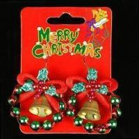 Buy cheap Earrings with Decoration, Measures 3 x 4cm, Available in Various Colors product