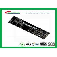 Buy cheap Black Communication PCB 8 Layer Rigid Circuit Board FR4 1.6mm product