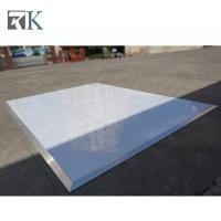 Buy cheap indoor venues portable plywood dance floor glossy finish panel product