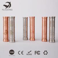 Buy cheap 700Mah Moonlight Silver / Copper E Cig Rebuildable Gift Box Packaging product