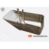 Buy cheap Custom R134A Cooling 316l Coil Tubular Heat Exchanger High Efficient product