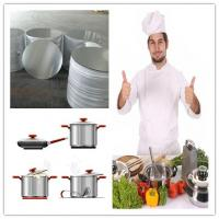 Buy cheap Spinning Cookware Aluminium Disc / Circle 1050 1060 1100 3003 For Kitchenware product