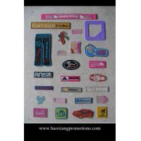 Buy cheap custom Garment accessories eco-friendly 3D PVC rubber patches product
