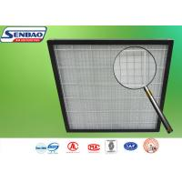 Buy cheap Pleated Pre Air Conditioning Air Filters 595 x 595 x 46mm G3 / G4 Panel product