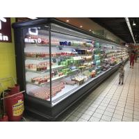 Buy cheap Green & Health Upright Vertical Multideck Open Chiller For Milk In Supermarket from wholesalers