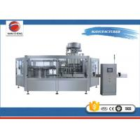 Full Automatic Carbonated Drinks Filling Machine Beverage Drink Production Line 3 In 1