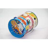 Barrel Custom Biscuit Tin Box With hanlde Cartoon-Cute Hamtaro Mouse