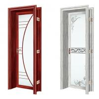 Buy cheap Push Pull Interior Aluminium Casement Door With Double Tempered Glass product
