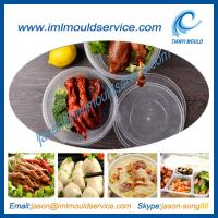 Buy cheap clear 1750ml thin wall plastic rice and food bowls moulding with lids disposable product