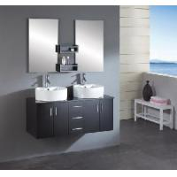 Buy cheap Wall Mounted Double Bowl Bathroom Vanity Cabinet product