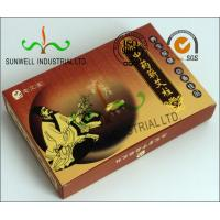 China Full Color Printing Medicine Packaging Box , Herbology Small Cardboard Boxes wholesale