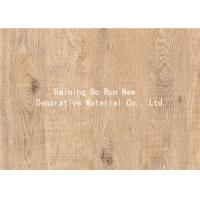 Buy cheap Real Wood Grain Foil Wood Grain Sheets Film product