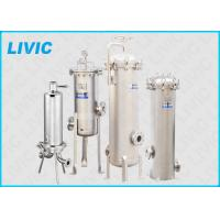 Buy cheap Stainless Steel Cartridge Filter Housing Reliable With High Filtration Rating product