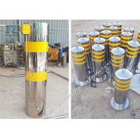 Buy cheap Stainless Steel Retractable Belt Barriers Hot Deep Galvanized Powder Coated product