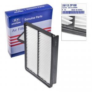 Spare Parts Auto Air Filter 28113 2P100 for Hyundai